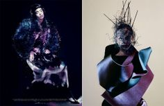 photographer: Paolo Roversi, styling: Robbie Spencer