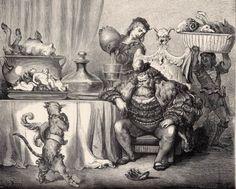 Illustration du Chat Botté|© Gustave Doré/Wikicommons