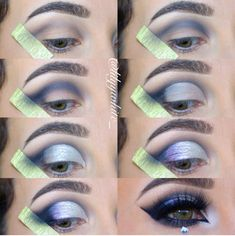 Step by Step Instructions . On makeup a bold and perfect makeup look without hap. Step by Step Instructions . On makeup a bold and perfect makeup look without happened to do it again ! Bold Eye Makeup, Natural Eye Makeup, Eye Makeup Tips, Smokey Eye Makeup, Skin Makeup, Makeup Ideas, Makeup Tutorials, Makeup Hacks, Makeup Inspiration