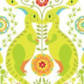 Dinoflorus, elodie-lauret on Spoonflower