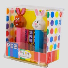 Dylan's Candy Bar Easter PEZ Set. Dylan's Candy, Candy Dispenser, Good Find, Lunch Box, Easter, Joy, My Love, Collection, Products