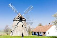 windmill, Kuzelov, Czech Republic