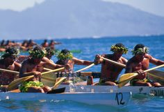 outrigger paddling race