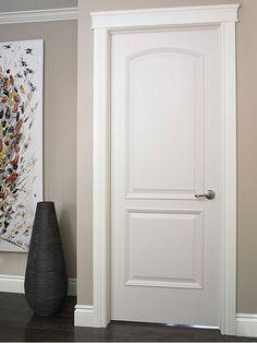 Interior doors moulding