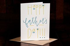 Happy+Fathers+Day+letterpress+card++single+by+inkmeetspaper,+$5.00