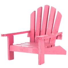 Pink Wood Beach Chair Decor/ soap bottle holder for tropical bathroom Small Bathroom Shelves, Bathroom Design Small, Ikea Bathroom, Bathroom Ideas, Small Bathroom Renovations, Diy Bathroom Remodel, Tropical Bathroom Decor, Small Bathroom Inspiration, Adirondack Chairs For Sale