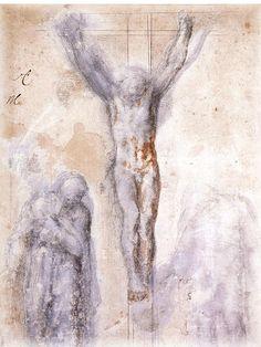 Romans 4:25 5) THE CRUCIFICTION by MICHELANGELO Buonarroti (1475-1564)