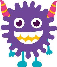 2014-08-20 - Meri Andrade - Álbuns da web do Picasa Cartoon Monsters, Monsters Inc, Cute Monsters, Little Monsters, Doodle Monster, Monster Birthday Parties, Monster Party, Monster Mash, Monster Clipart