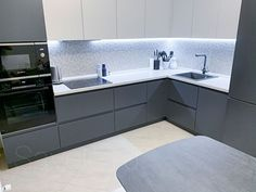 Modern Kitchen Interiors, Luxury Kitchen Design, Kitchen Room Design, Home Decor Kitchen, Interior Design Kitchen, Small Bathroom Layout, Latest Kitchen Designs, Home Stairs Design, Dressing Room Design