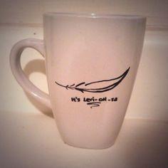 "Harry Potter ""LeviOHsa"" nerd mug. http://www.etsy.com/shop/KynasKreations"