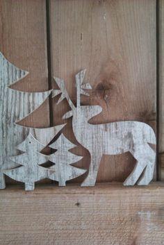 My Deer. Wooden articles all handcrafted by Binnen.