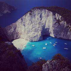 Greece, navagio beach