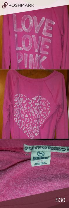 Vs Pink Off The Shoulder SweatShirt No flaws flaws except the one pictured in #3. No big deal though! It*s on the inside. Cheaper on Vinted. No fees!!! Trades welcome 100%!!! PINK Victoria's Secret Sweaters