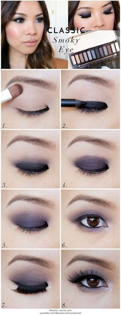 The Beauty Vanity | Classic Smoky Eye Makeup for Asian Eyes