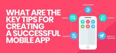 What are the Key Tips for Creating a Successful #MobileApp?  You should know the inner requirements to get success & key tips in running mobile app for your #business, also it is important that you select the best #mobileappdevelopment services to build your business #mobileapplication