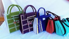 Photo - Google Photos Beaded Purses, Beaded Bags, Beaded Crafts, Jewelry Crafts, Leather Craft, Leather Bag, Etsy Seller, Quilt, Handbags