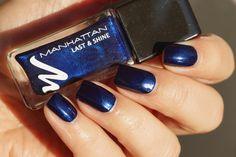 Manhattan Last& Shine nagellak nagellack nail polish 880 Midnight Kiss