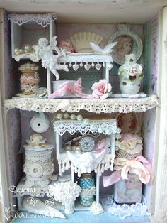 Shabby Chic Shadow Box