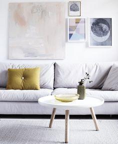 No sofa Living Room Design Unique Quick Decor Fix 4 Ways to Decorate Around A sofa You Don T Love No Living Room Inspiration, Interior Inspiration, Painting Inspiration, Interior Ideas, Modern Interior, Interior Styling, Home Living Room, Living Spaces, Living Area