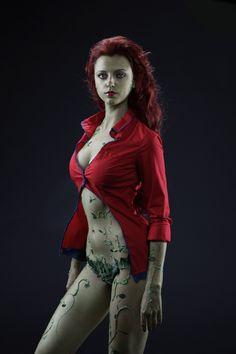 arkham asylum: poison ivy cosplay by *ormeli on deviantART