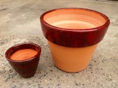 Ceramic vase, just for planting ...