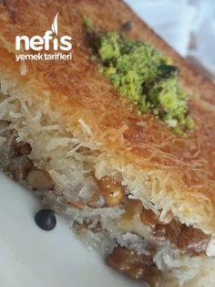 Çıtır Çıtır Tel Tel Cevizli Kadayıf Tatlısı - Nefis Yemek Tarifleri Spanakopita, Iftar, Cheesesteak, Sandwiches, Food And Drink, Cake, Ethnic Recipes, Desserts, Bern
