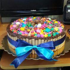 Torta de Pirulin Birthday Cake, Desserts, Food, Tailgate Desserts, Deserts, Birthday Cakes, Essen, Postres, Meals