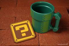Mario Pipe Mug - for the nostalgic coffee lover