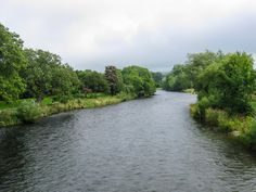 This is a photo of the river at a little town called Cockermouth.