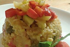 Zöldséges barnarizses rizottó kuktában | NOSALTY – receptek képekkel Top 5, Potato Salad, Curry, Potatoes, Lunch, Healthy, Ethnic Recipes, Food, Curries