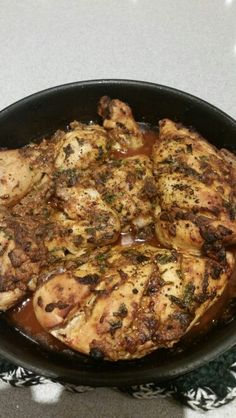 Lemon and garlic chive chicken