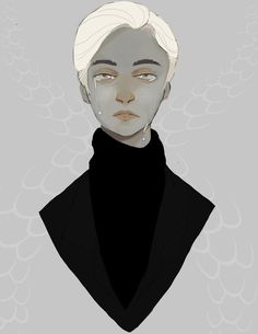 Pin for Later: Harry Potter Characters Are Reimagined in AMAZING Fan Art Draco Malfoy