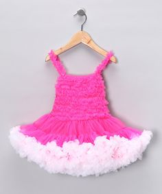 4f277537eb8e Hot Pink Petti dress by Royal Gem Clothing Pageant Girls