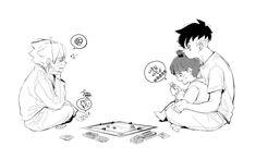 Naruto Uzumaki, Himawari Boruto, Naruhina, Sasunaru, Familia Uzumaki, Familia Anime, Naruto Cute, Naruto Funny, Naruto Oc Characters