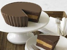 Reese peanut butter cup cake