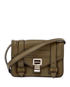 15c57ed47a PROENZA SCHOULER Ps1 Mini Leather Crossbody Bag, Green. #proenzaschouler # bags #shoulder