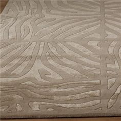 Candice Olson Luxury Zebra Carved Rug: 4 Colors - the queen of spacial glam