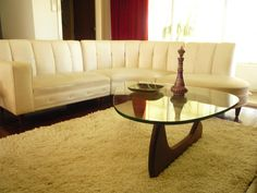 vintage sofa from retro renovation