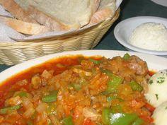 Balkan Pork and Peppers Recipe - Selsko Meso: Selsko Meso (Pork with Peppers)