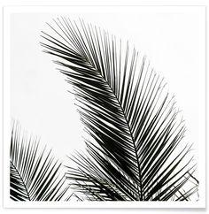 Palm Leaves 1 - Mareike Böhmer - Premium Poster
