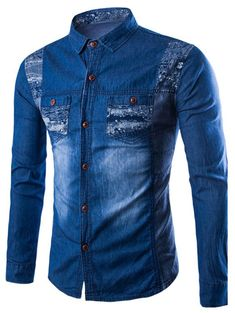 Cheap mens cowboy shirts, Buy Quality men cowboy style shirt directly from China blue shirt men Suppliers: New Design Hot Sale Men Cowboy Shirt Cotton Solid Jeans Shirt Fashion Preppy Style Blue Shirt Men Jean Shirt Men, Denim Shirt With Jeans, Jean Shirts, Denim Shirts, Men's Denim, Mens Summer T Shirts, Cheap Mens Shirts, Hipster Outfits Men, Camisa Polo