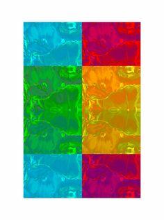 'Bouquet pp' von Rudolf Büttner bei artflakes.com als Poster oder Kunstdruck $18.71