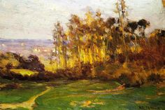 Henry Ossawa Tanner, Edge of the Forest, c. 1893