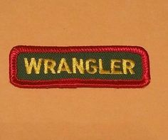 Worth Ranch Wrangler Patch
