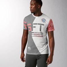e35059fdc55182 Reebok - T-shirt Reebok CrossFit Unity Triblend Lighthouse