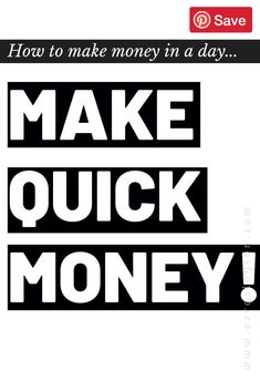 How To Make Quick Money,Are you struggling to pay bills? Need to make some quick money? Read this and discover new ways to make extra money from home. Make Quick Money, Make Money Today, Make Money From Home, Way To Make Money, Work From Home Careers, Work From Home Companies, Extra Money, Extra Cash, Financial Tips