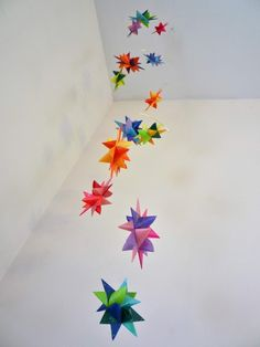Origami mobile - love this