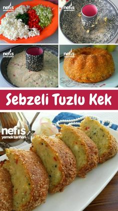 Sebzeli Tuzlu Kek – Nefis Yemek Tarifleri – How to Make Salt Cake Recipe with Vegetables? Illustrated explanation of Vegetable Salt Cake Recipe in the book of people and photographs of those who try it are here. Yummy Recipes, Easter Recipes, Cake Recipes, Dessert Recipes, Yummy Food, Dessert Party, Salt Cake Recipe, Sweet Desserts, Easy Desserts