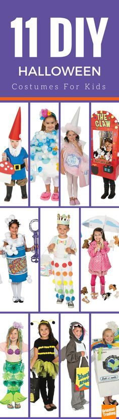 Need a DIY Halloween costume for your little one? Whether you are going for a specific look or are trying to pull together a last-minute Halloween ensemble, we've got over 11 easy DIY Halloween costumes that are sure to make your kiddos stand out from the crowd (and get more than your share of the candy). Let's do this.