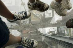 Glass outlook in Sears Tower.